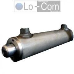 doppeltwirkend ohne Befestigung Hydraulikzylinder 40//25 450 Hub